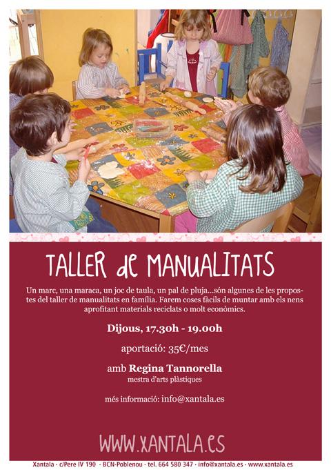 taller manualidades en familia